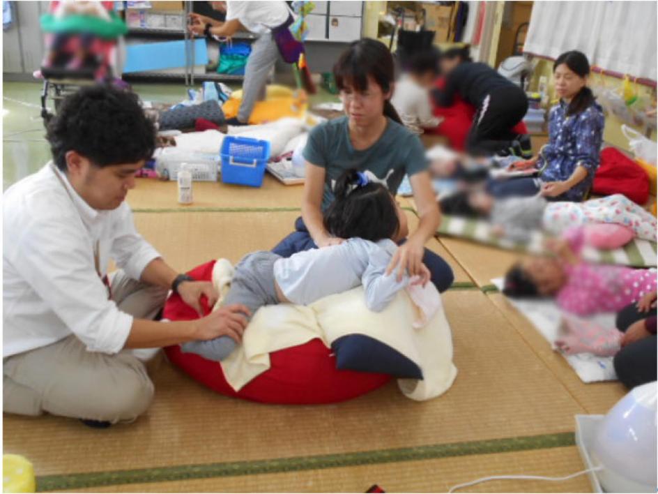 児童生徒一人一人の活動と姿勢作りについて