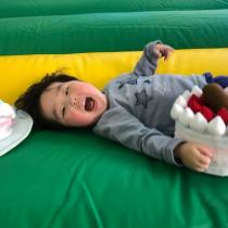 重症児デイサービスにおける感覚統合器具の活用